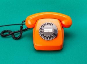 Orange old phone
